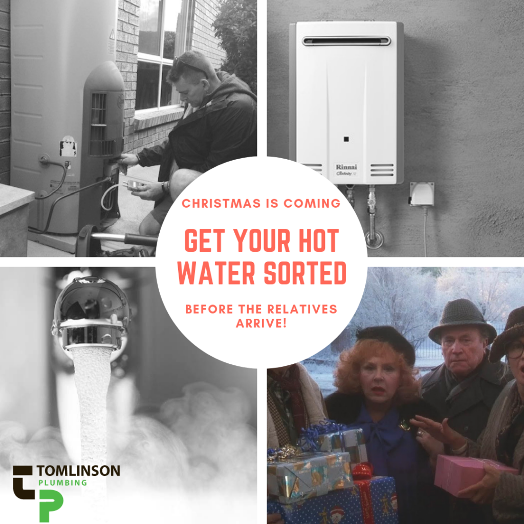 Hot Water Geelong | Tomlinson Plumbing