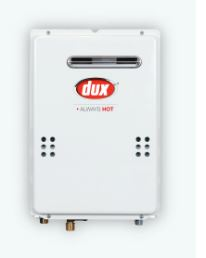 Dux Continuous Flow Gas Hot Water Units | Geelong | Torquay | Tomlinson Plumbing