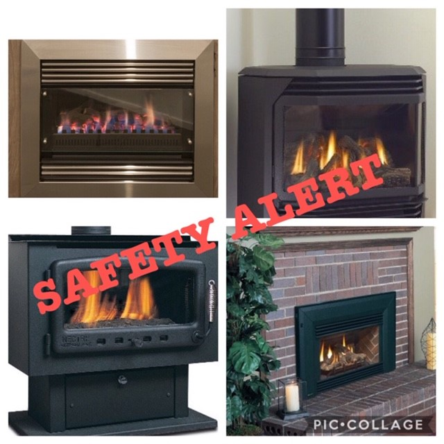 Gas Heaters | Gas Log Fires | Safety Alert | Geelong | Tomlinson Plumbing