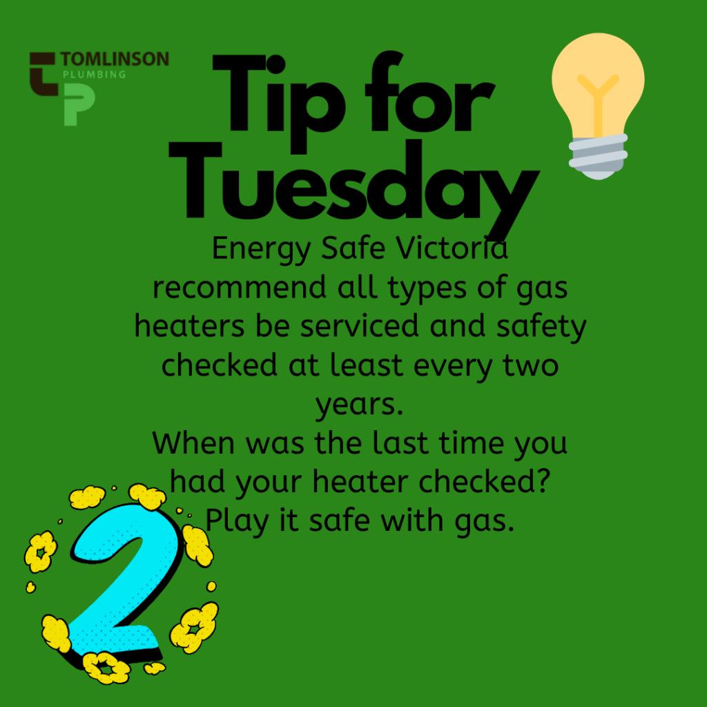 Gas Heater Servicing & Carbon Monoxide Testing Geelong | Torquay | Ocean Grove | Barwon Heads | Tomlinson Plumbing