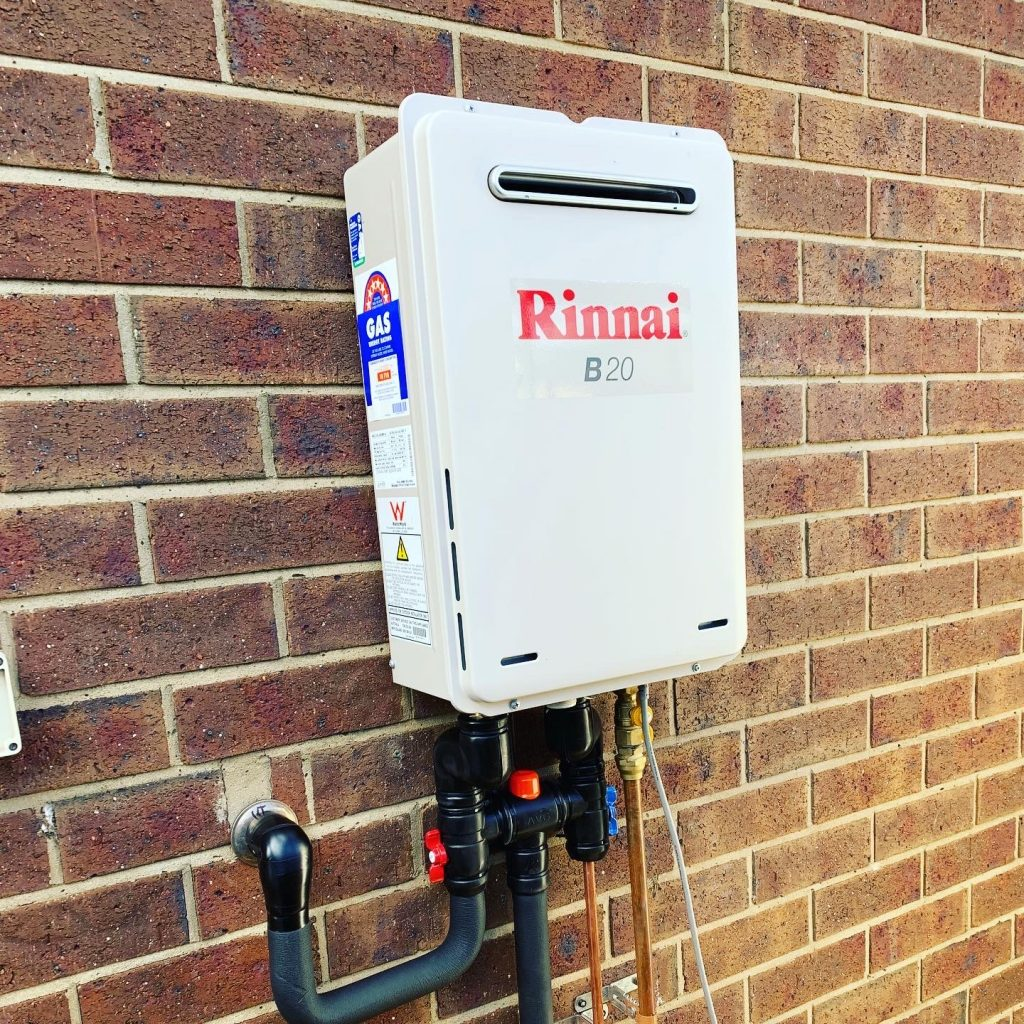 Rinnai B20 Continuous Flow Hot Water Unit | Geelong | Torquay | Tomlinson Plumbing