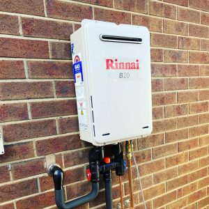 Rinnai B20 Continuous Flow Hot Water Unit | Geelong | Torquay | Tomlinson Plumbing