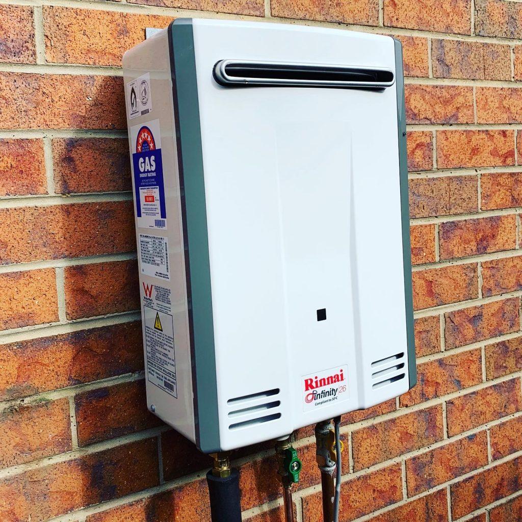 Rinnai Infinity 26 Gas Hot Water | Tomlinson Plumbing | Geelong | Torquay | Ocean Grove | Barwon Heads