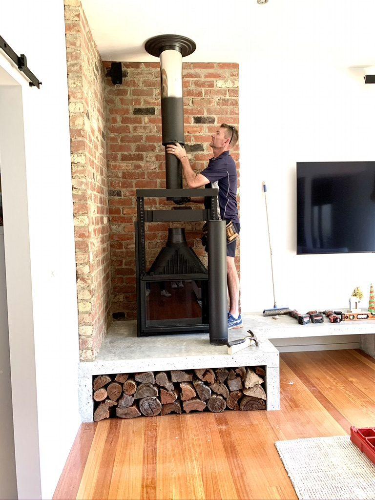 Wood heater & flue installations | Tomlinson Plumbing | Torquay | Geelong | Ocean Grove | Barwon Heads