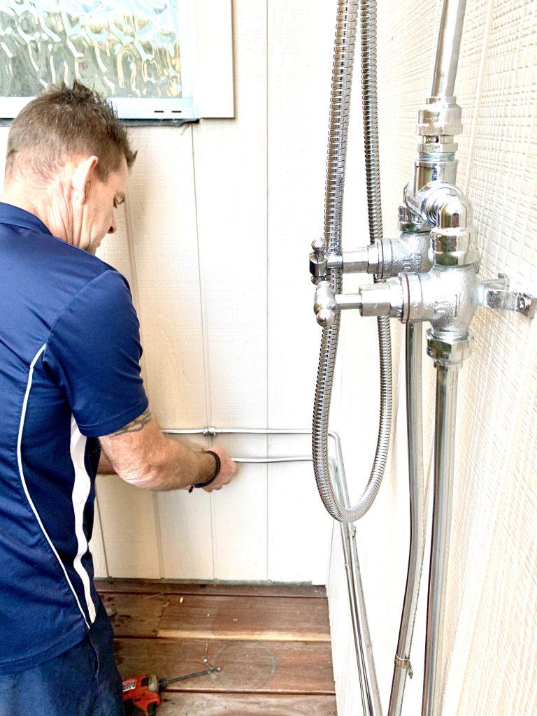 Outdoor Showers | Tomlinson Plumbing | Torquay | Barwon Heads | Ocean Grove | Geelong