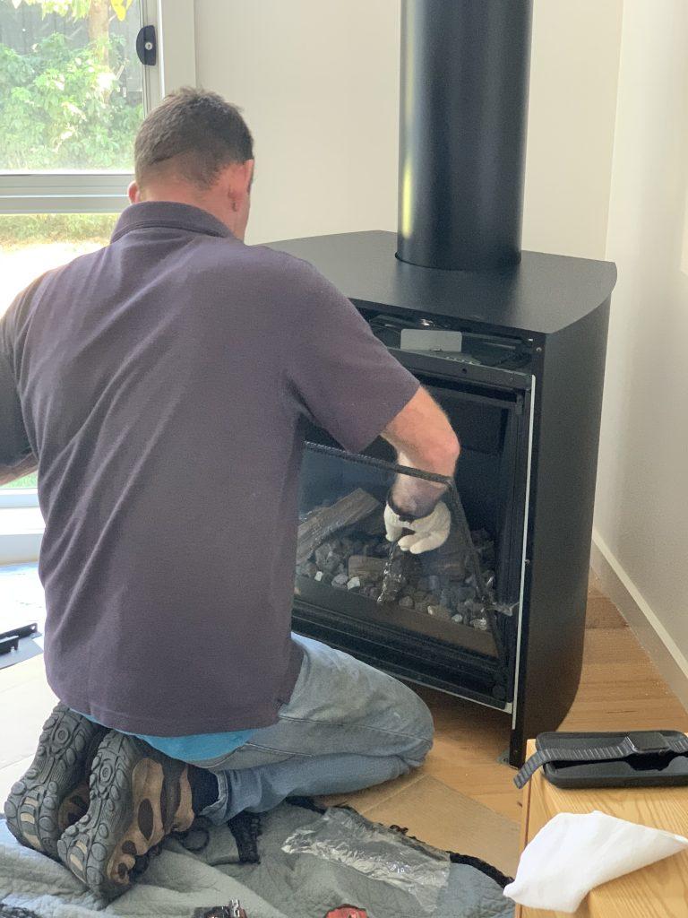 Escea gas log fires | Tomlinson Plumbing | Torquay | Geelong | Ocean Grove
